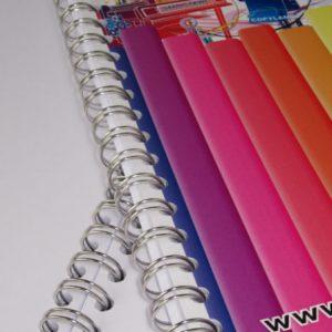 brochure met metaalringen 5