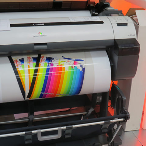 grand format imprimante
