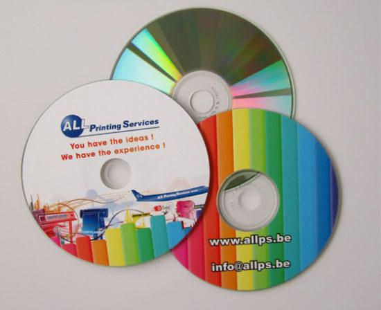 duplication cd dvd impression