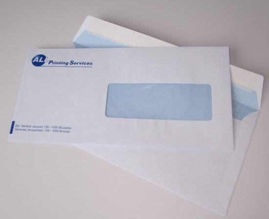 enveloppe fenêtre strip