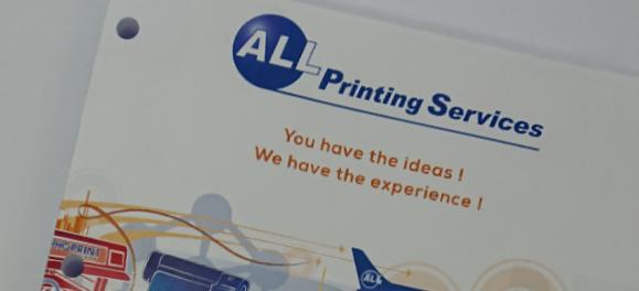 Brochure 2 et 4 trous – brochures met 2 of 4 perforaties