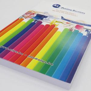 Brochure sans trous – zonder gaatjes